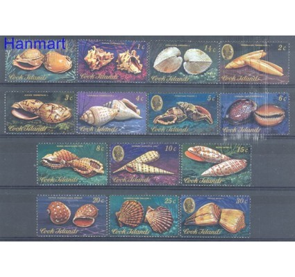 Znaczek Wyspy Cooka 1974 Mi 397-410 Czyste **