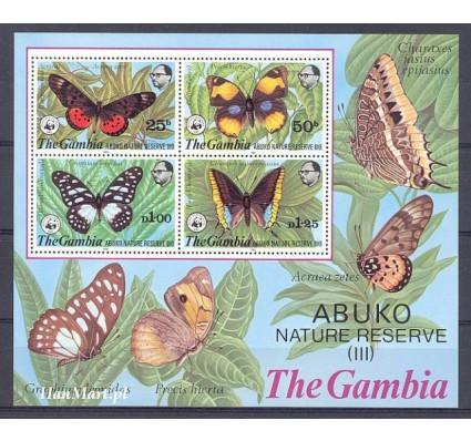 Znaczek Gambia 1980 Mi bl 5 Czyste **