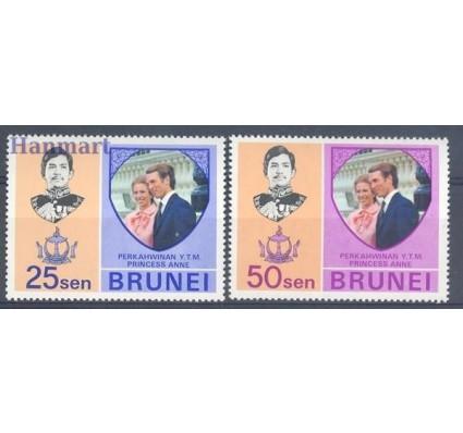Znaczek Brunei 1973 Mi 184-185 Czyste **