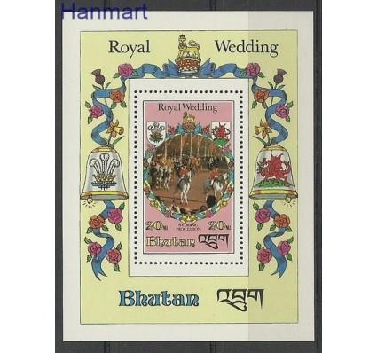 Znaczek Bhutan 1981 Mi bl 85 Czyste **