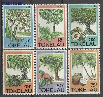Znaczek Tokelau 1985 Mi 111-116 Czyste **
