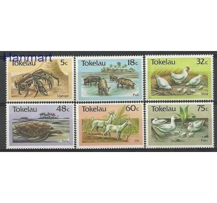 Znaczek Tokelau 1986 Mi 130-135 Czyste **