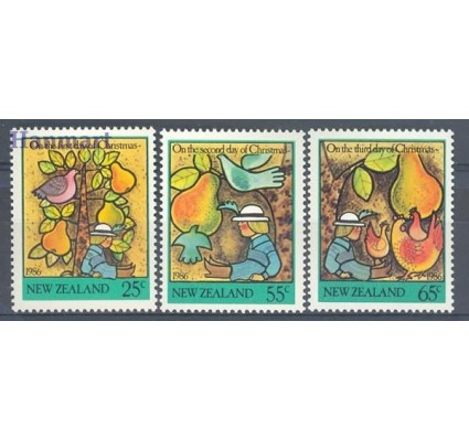 Znaczek Nowa Zelandia 1986 Mi 971-973 Czyste **