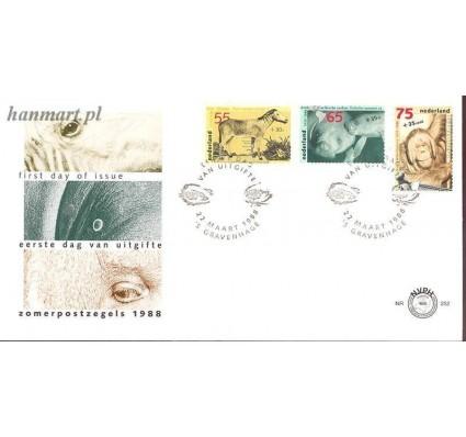 Holandia 1988 Mi 1339-1341 FDC