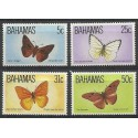 Bahamy 1983 Mi 541-544 Czyste **
