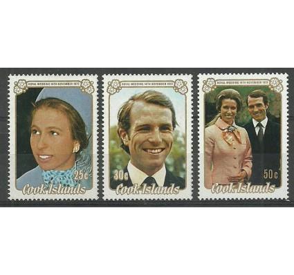 Znaczek Wyspy Cooka 1973 Mi 382-384 Czyste **