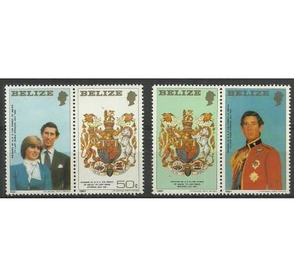Znaczek Belize 1981 Mi zf 554-556 Czyste **