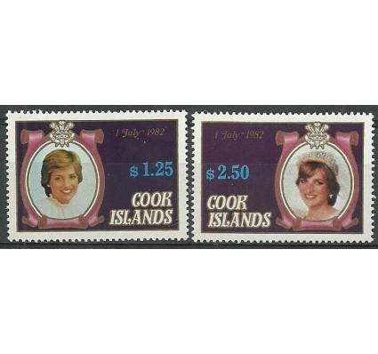 Znaczek Wyspy Cooka 1982 Mi 813+815 Czyste **