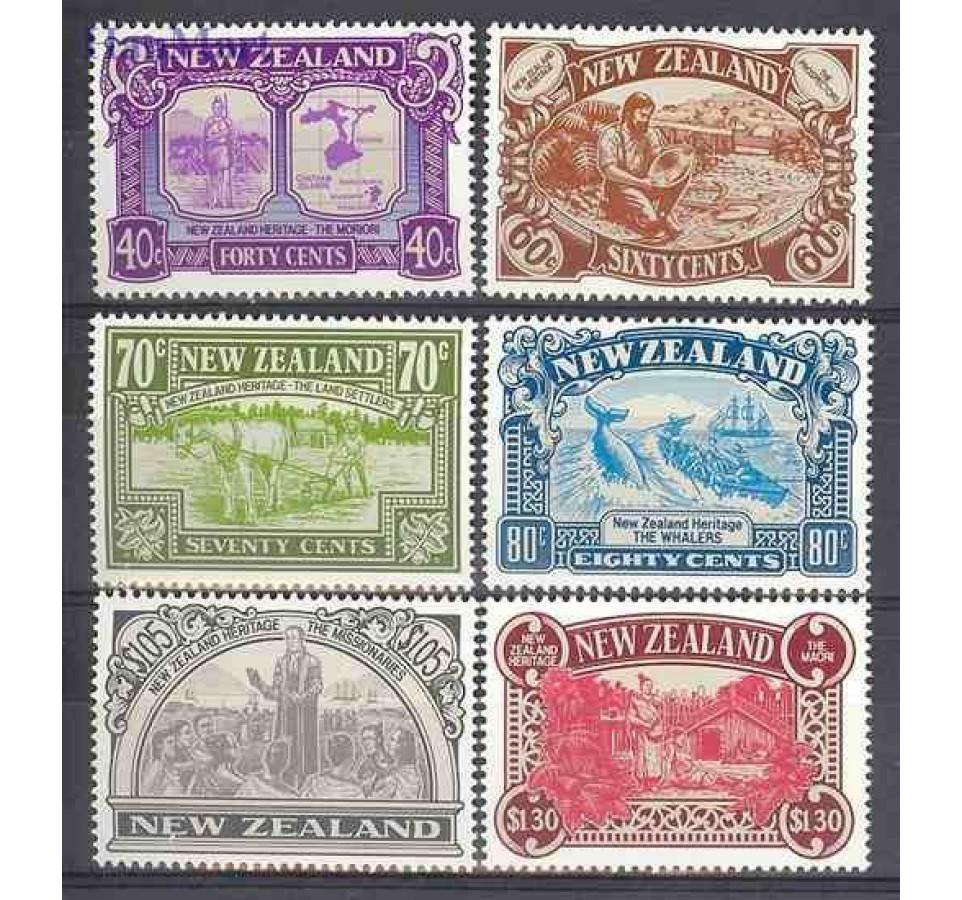 Nowa Zelandia 1989 Mi 1071-1076 Czyste **