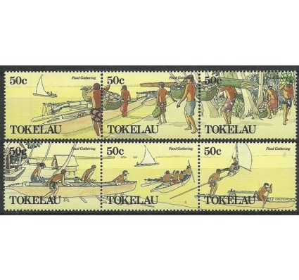 Znaczek Tokelau 1989 Mi 165-170 Czyste **