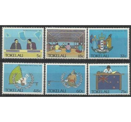 Znaczek Tokelau 1988 Mi 153-158 Czyste **