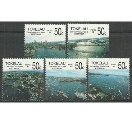 Znaczek Tokelau 1988 Mi 148-152 Czyste **