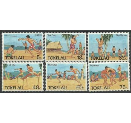 Znaczek Tokelau 1987 Mi 142-147 Czyste **