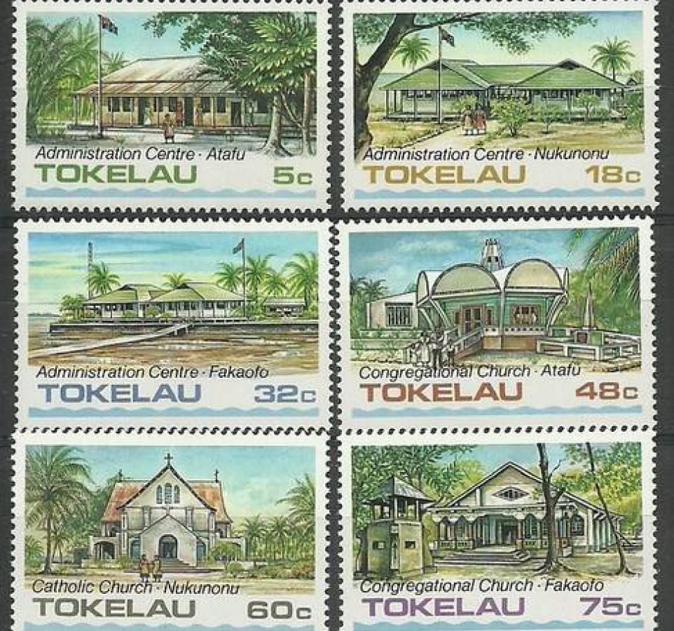 Tokelau 1985 Mi 117-122 Czyste **