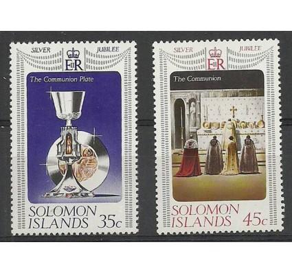 Znaczek Wyspy Salomona 1977 Mi 332-333 Czyste **