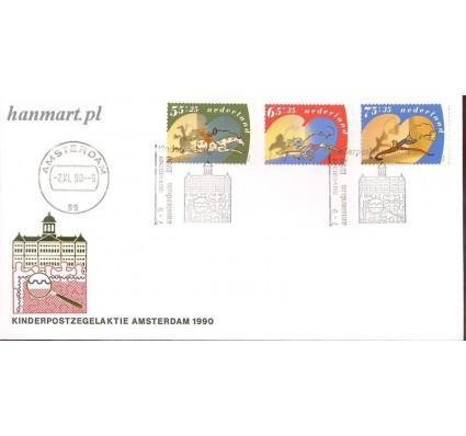 Znaczek Holandia 1990 Mi 1392-1394 FDC