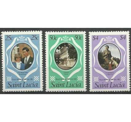 Znaczek Saint Lucia 1981 Mi 543-545C Czyste **