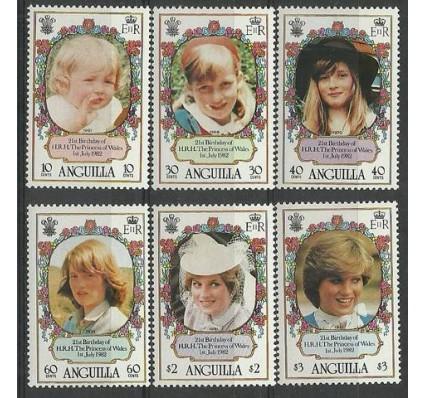 Znaczek Anguilla 1982 Mi 483-488 Czyste **