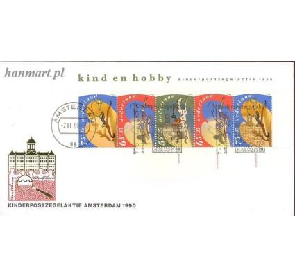 Znaczek Holandia 1990 Mi bl 34 FDC