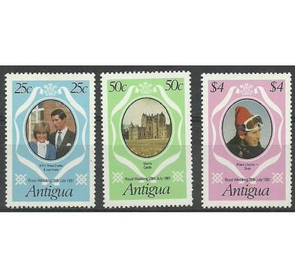 Znaczek Antigua i Barbuda 1981 Mi 628-630C Czyste **