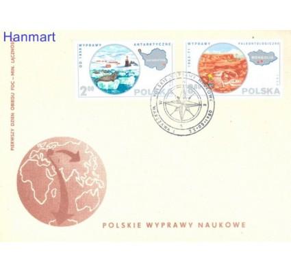 Znaczek Polska 1980 Mi 2686-2691 Fi 2538-2543 FDC