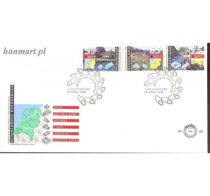 Znaczek Holandia 1991 Mi 1403-1405 FDC