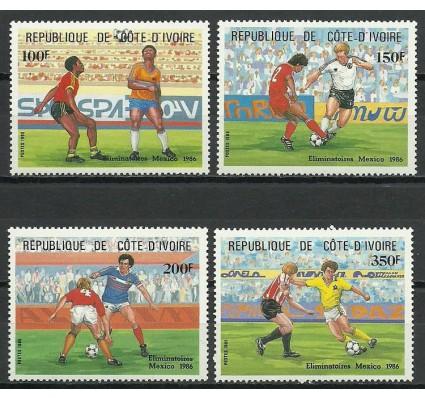 Znaczek Wybrzeże Kości Słoniowej 1985 Mi 867-870 Czyste **