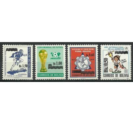 Znaczek Boliwia 1986 Mi 1297-1300 Czyste **