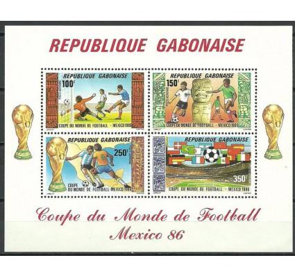 Znaczek Gabon 1986 Mi bl 54 Czyste **