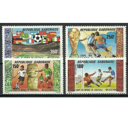 Znaczek Gabon 1986 Mi 955-958 Czyste **