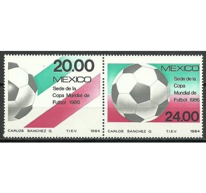 Znaczek Meksyk 1984 Mi 1919-1920 Czyste **