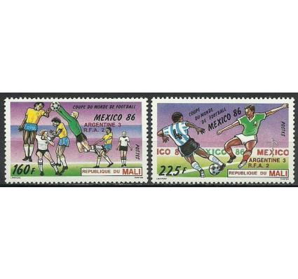 Znaczek Mali 1986 Mi 1075-1076 Czyste **