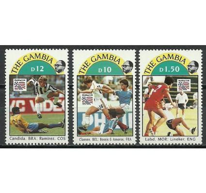 Znaczek Gambia 1993 Mi 1770+1774-1775 Czyste **