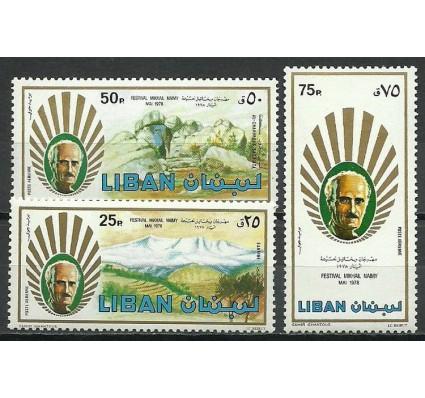 Znaczek Liban 1978 Mi 1284-1286 Czyste **