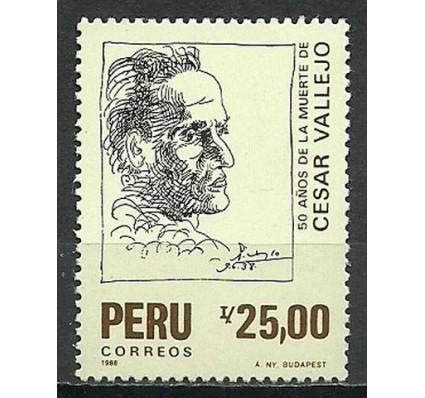 Znaczek Peru 1988 Mi 1378 Czyste **