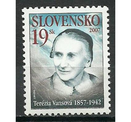 Znaczek Słowacja 2007 Mi 548 Czyste **