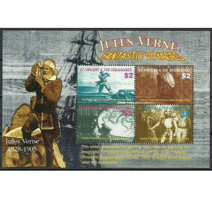 Znaczek Saint Vincent i Grenadyny 2005 Mi ark 6192-6195 Czyste **