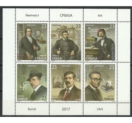 Znaczek Serbia 2017 Mi ark 758-763 Czyste **