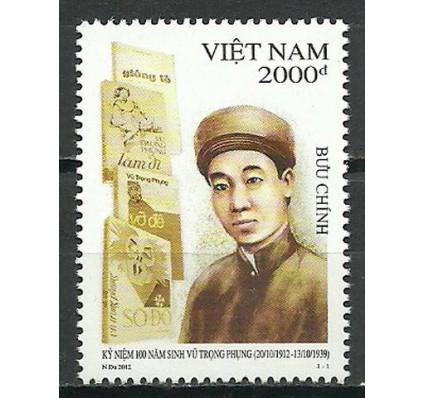 Znaczek Wietnam 2012 Mi 3625 Czyste **