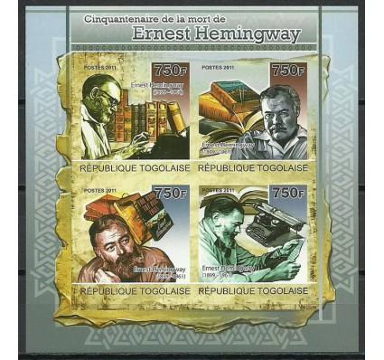 Znaczek Togo 2011 Mi ark 3934-3937B Czyste **