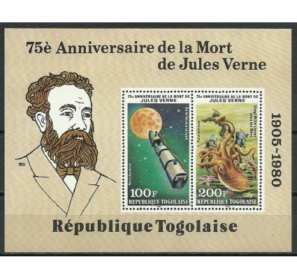 Znaczek Togo 1980 Mi bl 161 Czyste **