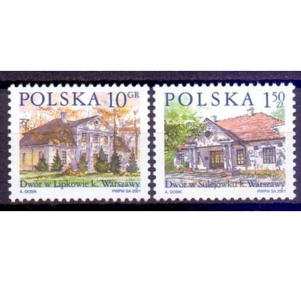 Znaczek Polska 2001 Mi 3890-3891 Fi 3740-3741 Czyste **