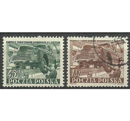 Znaczek Polska 1952 Mi 787-788 Fi 649-650 Stemplowane