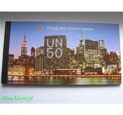 Narody Zjednoczone Wiedeń 1995 Mi 1 Czyste **