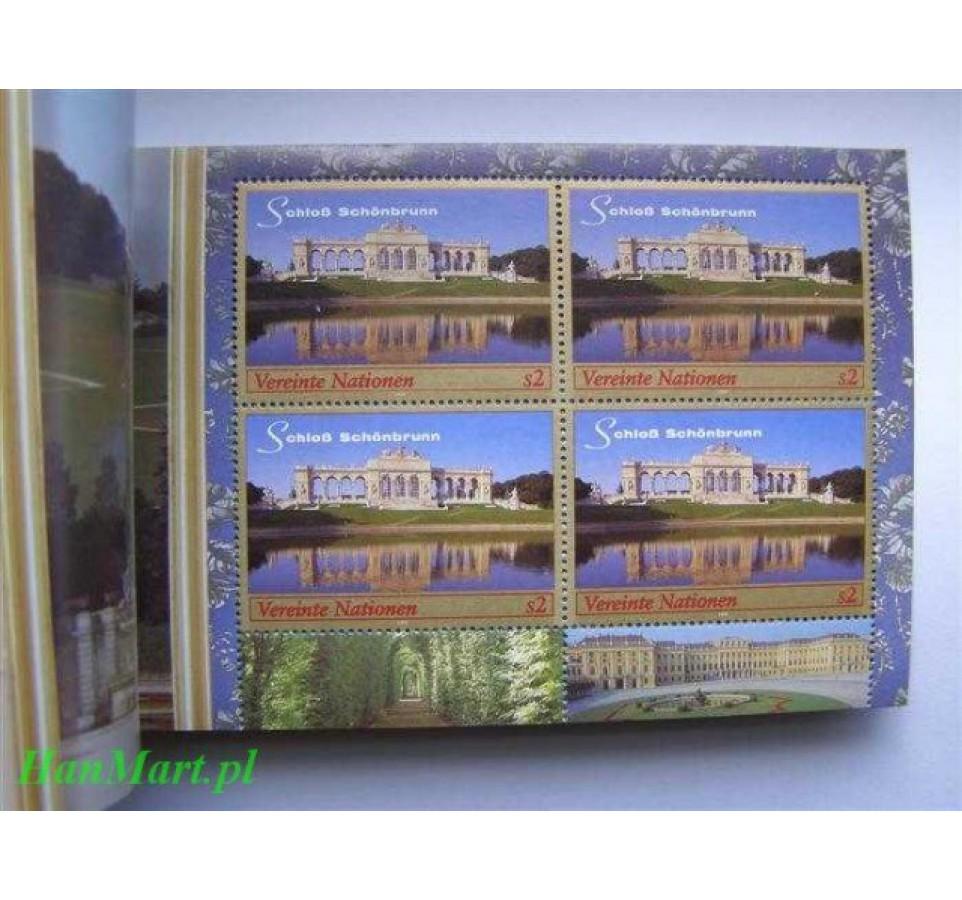 Narody Zjednoczone Wiedeń 1998 Mi 3 Czyste **