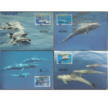 Znaczek Malediwy 2009 Mi 4768-4771 Karta Max