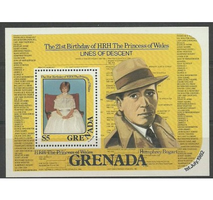 Znaczek Grenada 1982 Mi bl 106 Czyste **