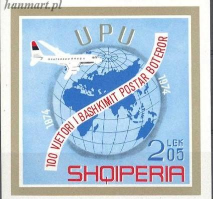 Znaczek Albania 1974 Mi bl 52 Czyste **