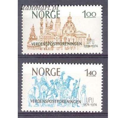 Znaczek Norwegia 1974 Mi 691-692 Czyste **