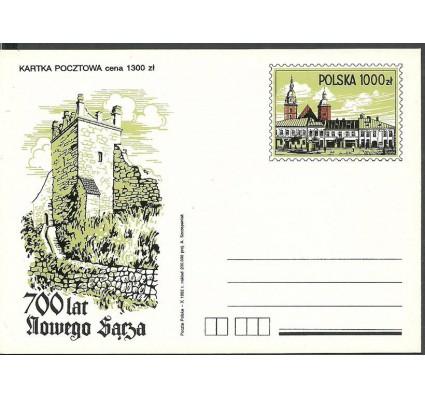 Znaczek Polska 1992 Fi Cp 1029 Całostka pocztowa